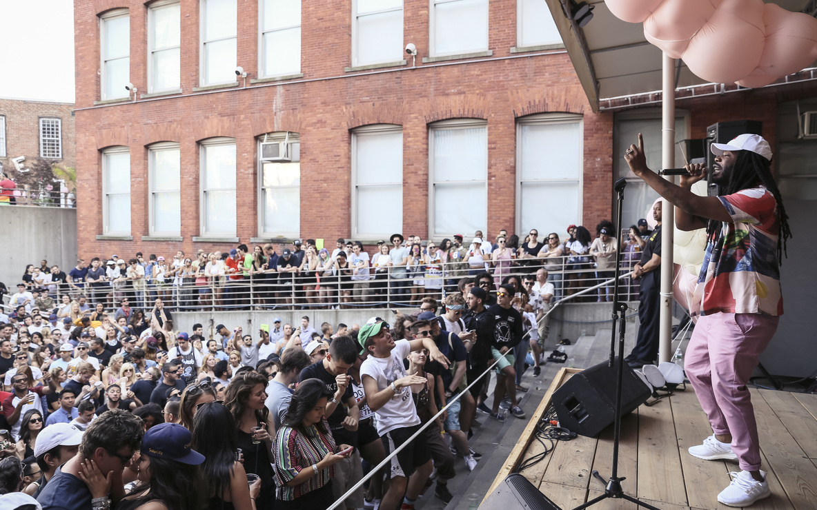 D.R.A.M. Warm Up at MoMA PS1, June 25, 2016. Photo: Charles Roussel