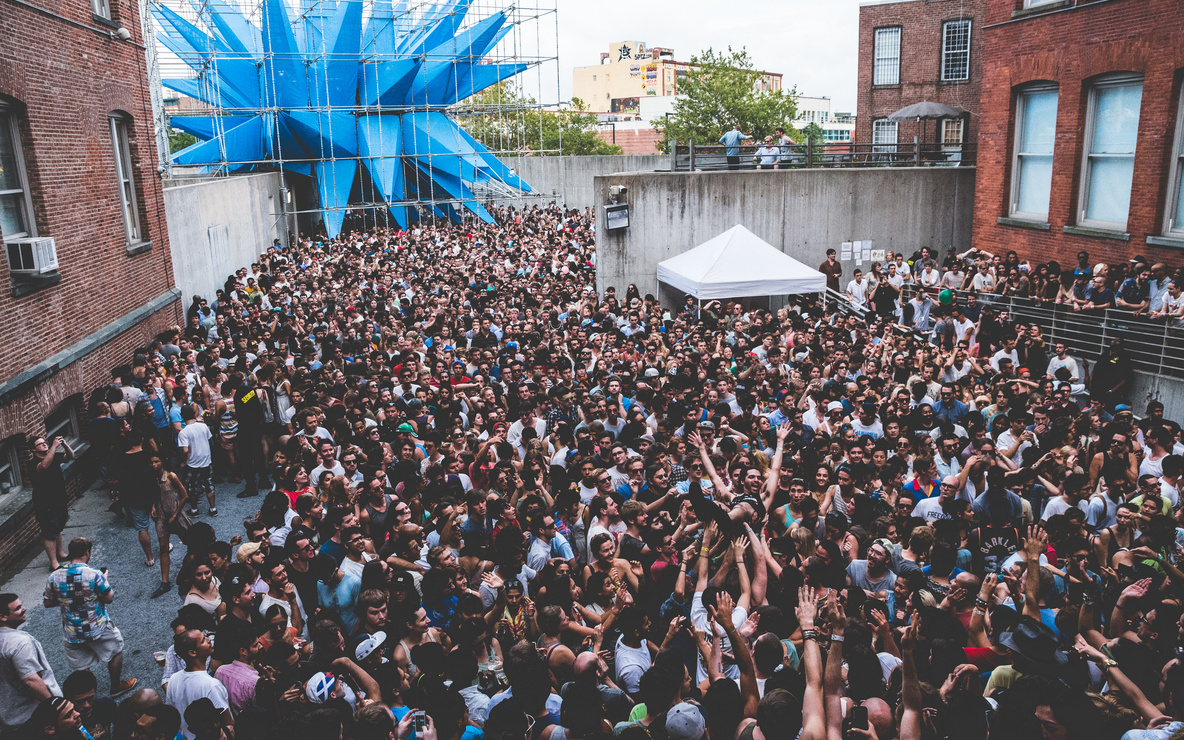 Warm Up, MoMA PS1, 2012. Photo: Loren Wohl