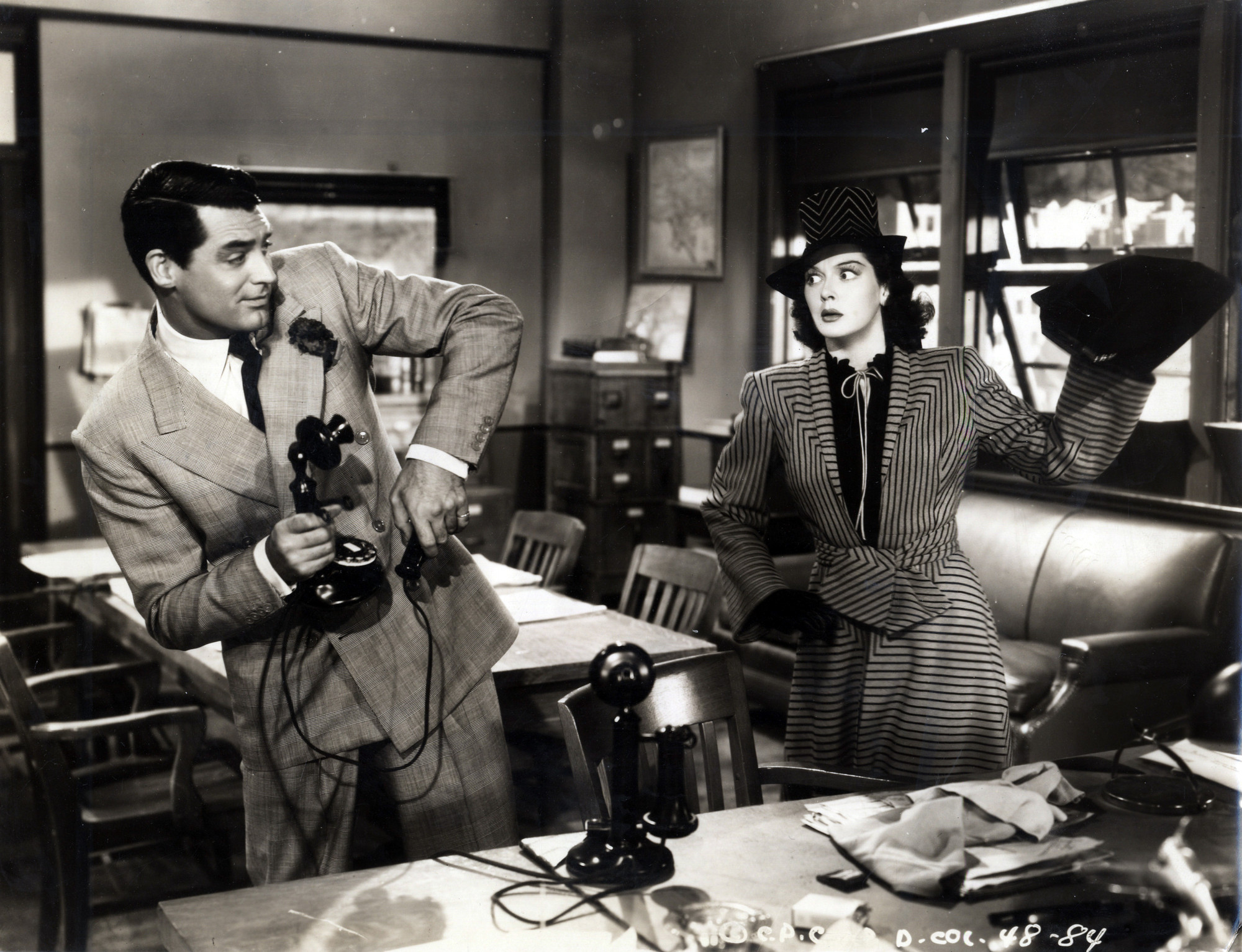 His Girl Friday. 1940. USA. Directed by Howard Hawks