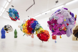 Installation view, *Mike Kelley* at MoMA PS1, October 13, 2013–February 2, 2014. Photo: Matthew Septimus