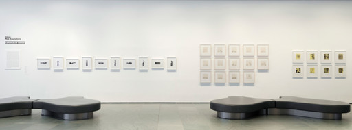 Installation view of *Inbox: Edition Jacob Samuel* at The Museum of Modern Art, New York. Photo: John Wronn