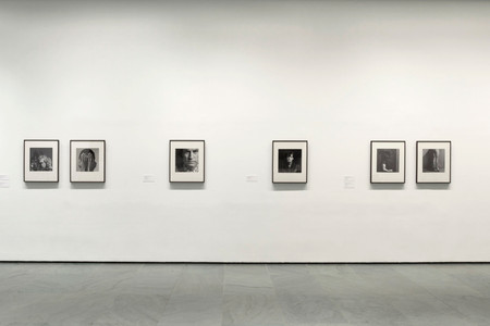 Installation view of Inbox: Robert Mapplethorpe at The Museum of Modern Art, New York. Photo: John Wronn