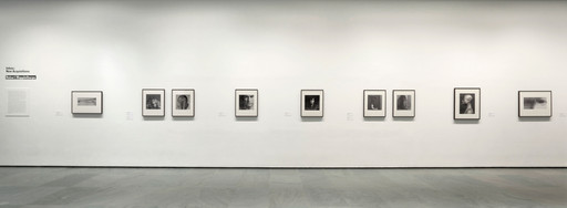 Installation view of *Inbox: Robert Mapplethorpe* at The Museum of Modern Art, New York. Photo: John Wronn