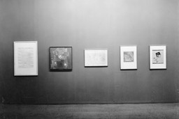 Installation view of *Paul Klee* at The Museum of Modern Art, New York. Photo: Soichi Sunami