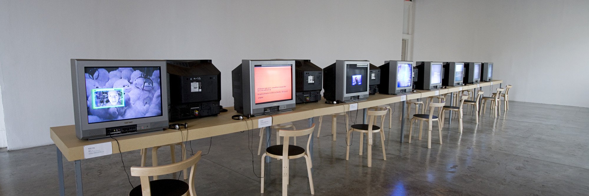 Installation view of Modern Women: Single Channel at MoMA PS1, January 23–August 22, 2011. Photo: Matthew Septimus