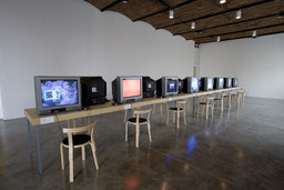 Installation view of *Modern Women: Single Channel* at MoMA PS1, January 23–August 22, 2011. Photo: Matthew Septimus