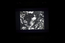 Installation view of *Maya Deren – At Land* at MoMA PS1, January 23–May 2, 2011. Photo: Matthew Septimus