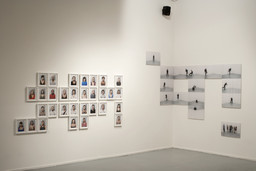 Installation view of *Clifford Owens: Anthology* at MoMA PS1, November 13, 2011–May 7, 2012. Photo: Matthew Septimus