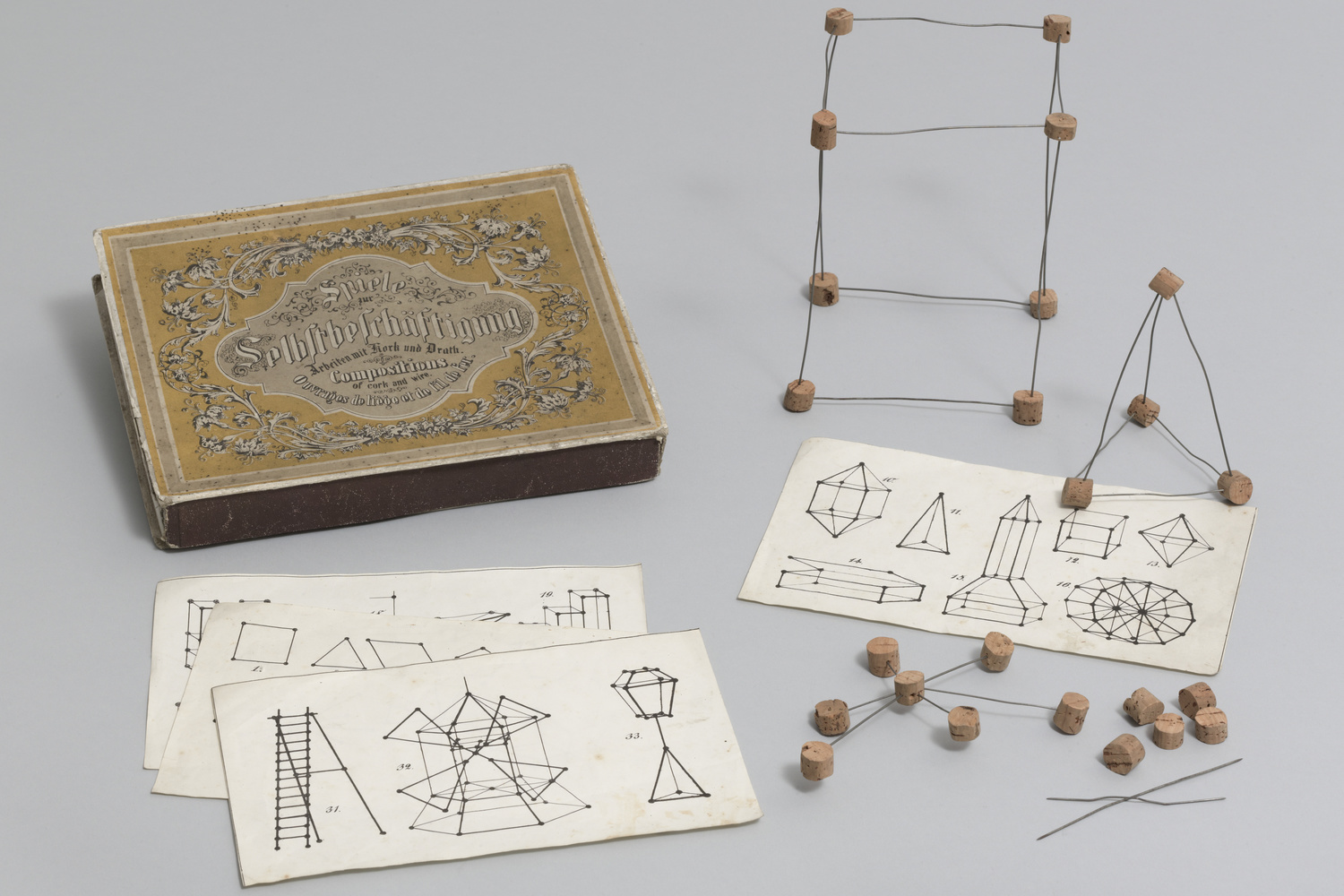 Froebel Gifts and the Principles of Design