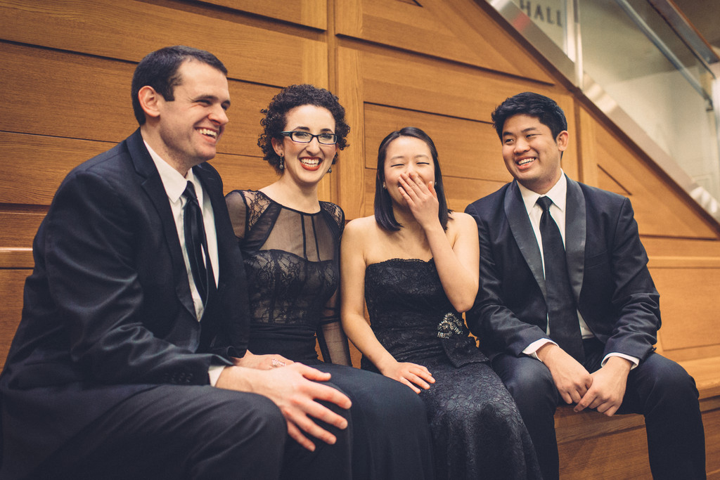 Verona Quartet. Photo: Joseph Ong and Brittany Florenz