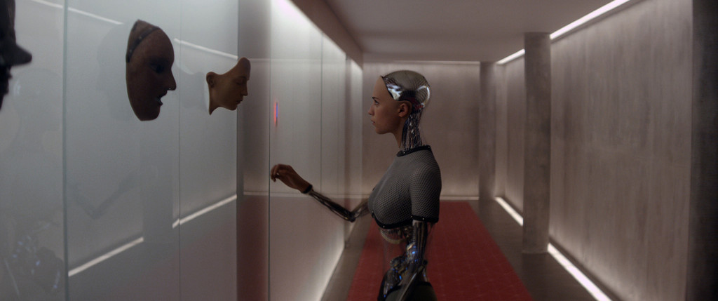 *Ex Machina*. 2015. Great Britain. Directed by Alex Garland. Courtesy Universal Pictures/Photofest. © Universal Pictures