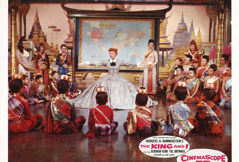 The King and I. 1956. USA. Directed by Walter Lang