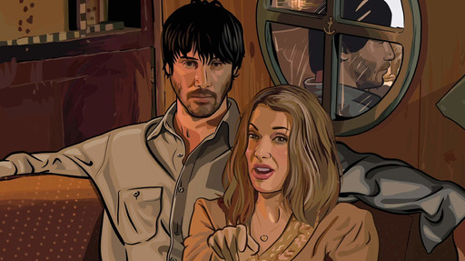 A Scanner Darkly. 2006. USA. Directed by Richard Linklater. Courtesy of Photofest