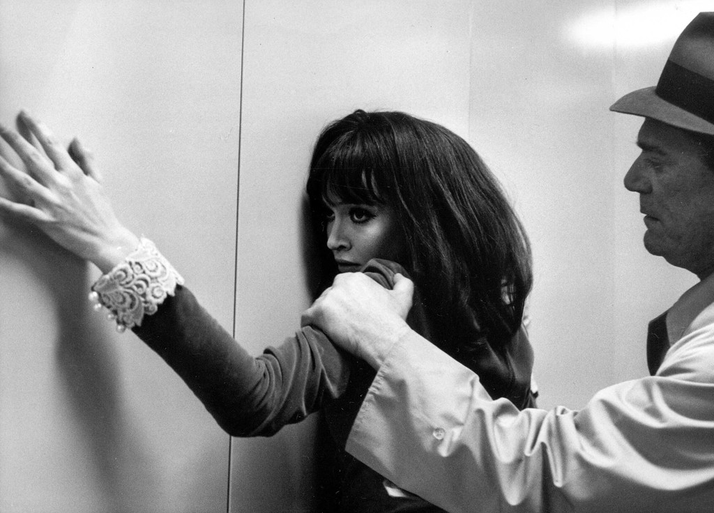 *Alphaville, une étrange aventure de Lemmy Caution (Alphaville).* 1965. France. Written and directed by Jean-Luc Godard. Courtesy of Photofest