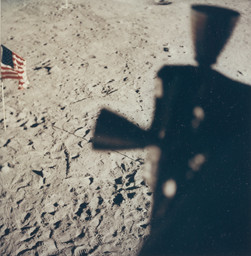 Untitled photograph from the Apollo 11 mission