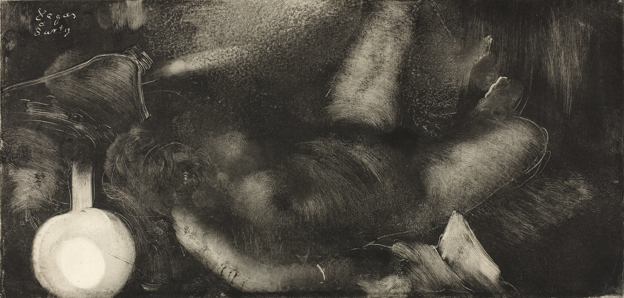 Edgar Degas, Woman Reclining on Her Bed (Femme étendue sur son lit), 1879–83, The Art Institute of Chicago, Chicago, IL, USA.