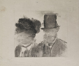 Heads of a Man and a Woman (Homme et femme, en buste)