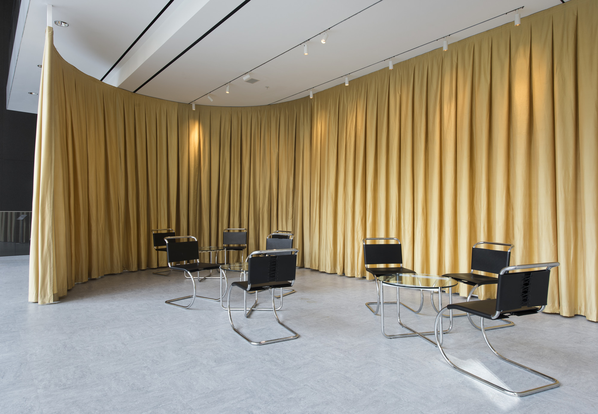 Ludwig mies van der rohe interior - Lilly Reich And Ludwig Mies Van Der Rohe The Velvet And Silk Cafe 1927
