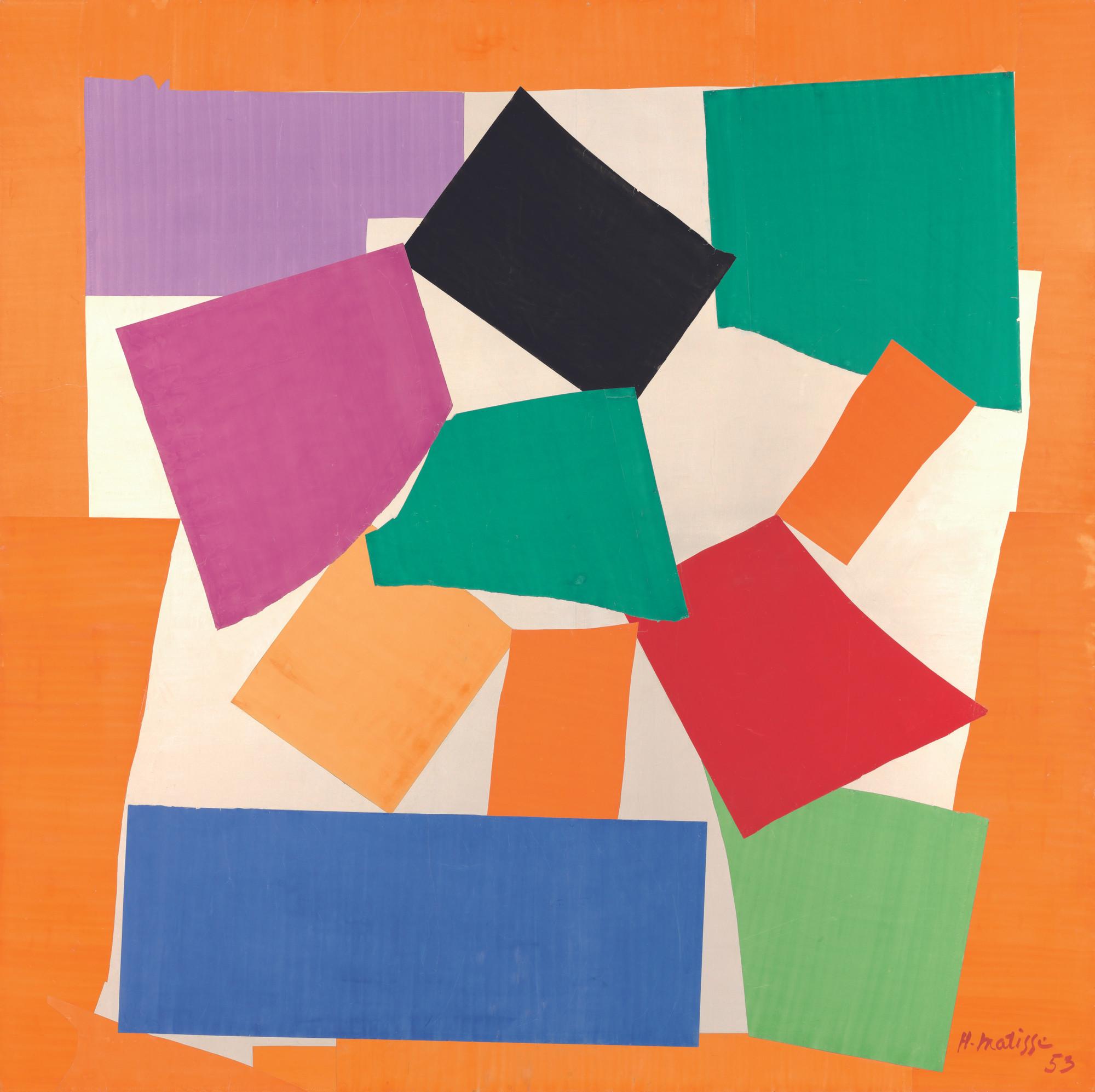 Henri Matisse. The Snail. 1953 | MoMA
