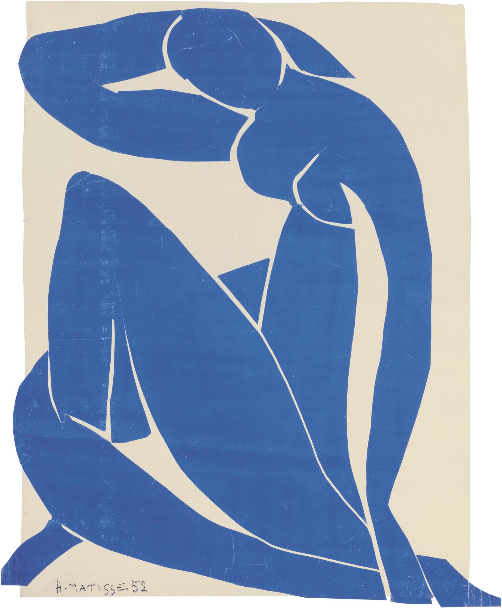 *Blue Nude II* Blue in Art