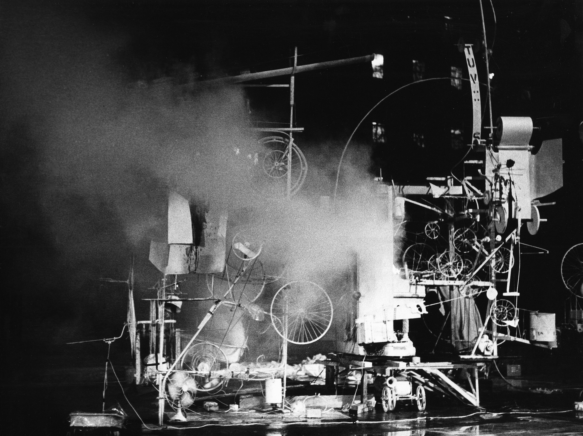 *Homage to Jean Tinguely's Homage to New York*