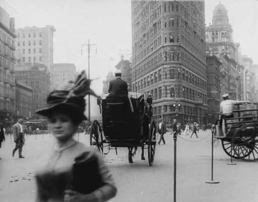 *New York 1911.* 1911. Sweden. Produced by Svenska Biografteatern. Silent, with music by Ben Model. 9 min.