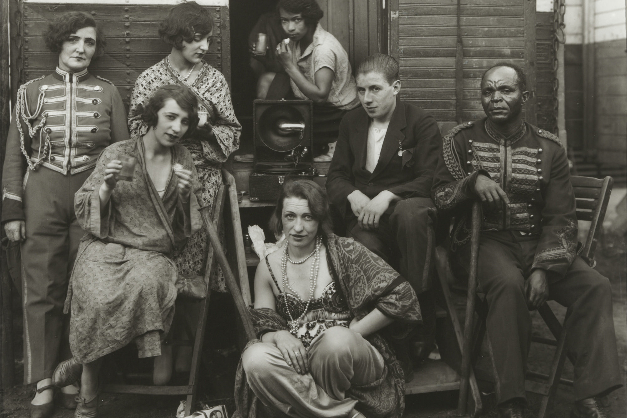 August Sander (German. 1876–1964). Circus Artists. 1926–32. Gelatin  silver print, 10 3/16 × 7 3/8″ (25.8 × 18.7 cm). The Museum of Modern Art, New York. Gift of the artist. © 2016 Die Photographische Sammlung/SK Stiftung Kultur - August Sander Archiv, Cologne/ARS, NY