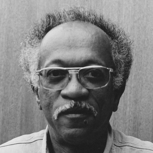Charles White at home in Altadena, California, 1971. Courtesy The Charles White Archives