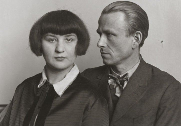 August Sander (German. 1876–1964). The Painter Otto Dix and his Wife Martha. 1925–26. Gelatin  silver print, 10 3/16 × 7 3/8″ (25.8 × 18.7 cm). The Museum of Modern Art, New York. Gift of the artist. © 2016 Die Photographische Sammlung/SK Stiftung Kultur - August Sander Archiv, Cologne/ARS, NY