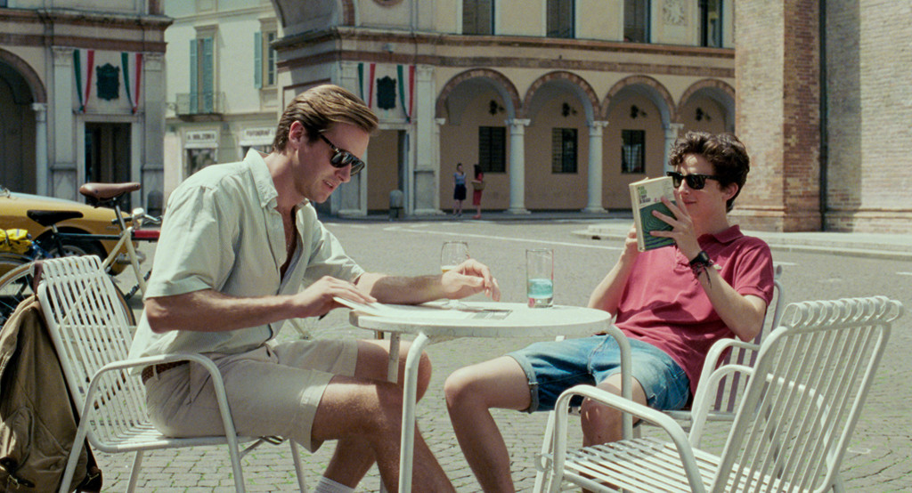 *Call Me by Your Name*. 2017. Italy/France/Brazil/USA. Directed by Luca Guadagnino. Courtesy of Sony Pictures Classics