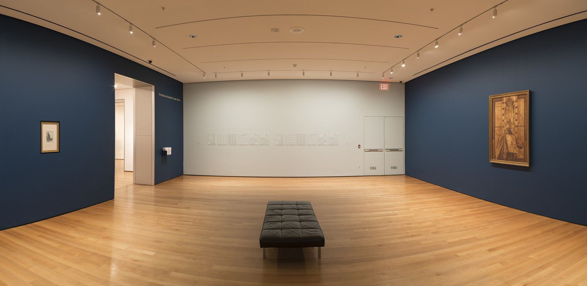 Installation view of Charles White—Leonardo da Vinci. Curated by David Hammons, The Museum of Modern Art, October 7, 2017–January 1, 2018. The Museum of Modern Art Archives, New York