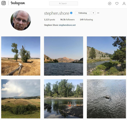 Stephen Shore's Instagram account. 2014–ongoing. Courtesy the artist and 303 Gallery, New York