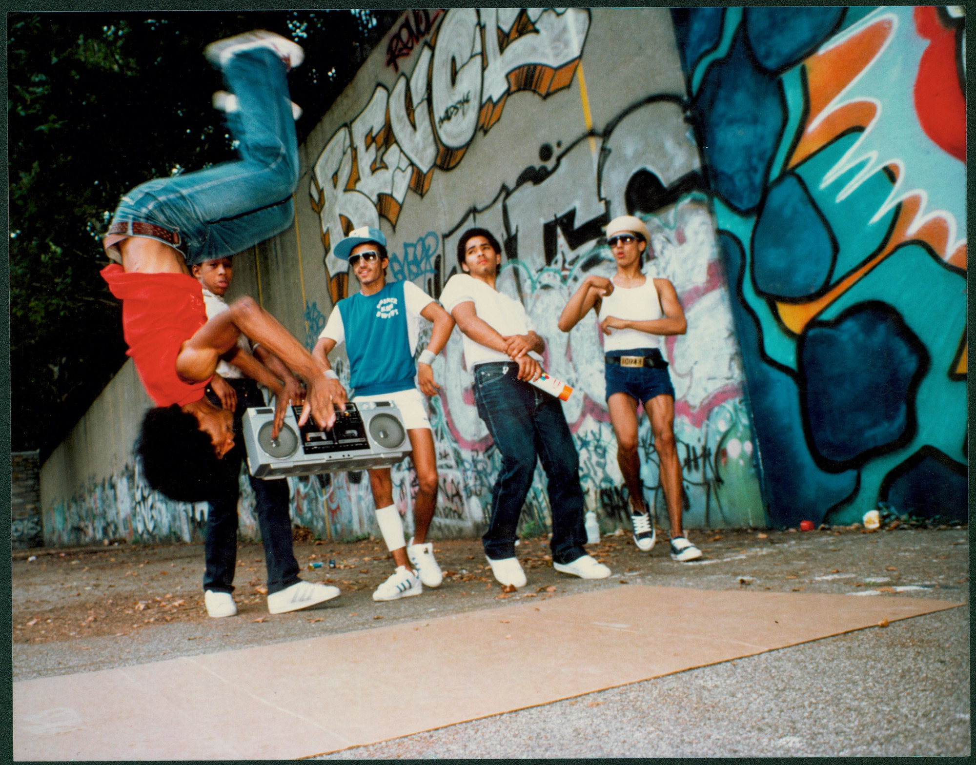 Wild Style. 1983. USA. Directed by Charlie Ahearn. Image courtesy of Music Box Films
