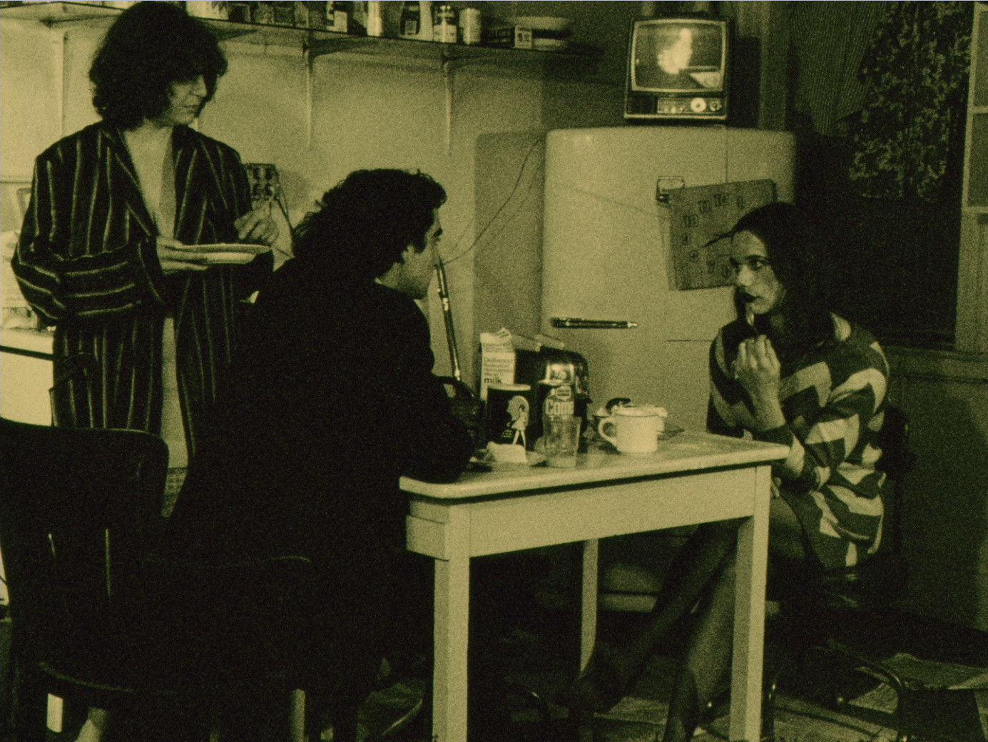 Steve Brown, Ellie Nagler, Barry Shils. The Jones. Digital video from 16mm (color, sound), 24:30 min.