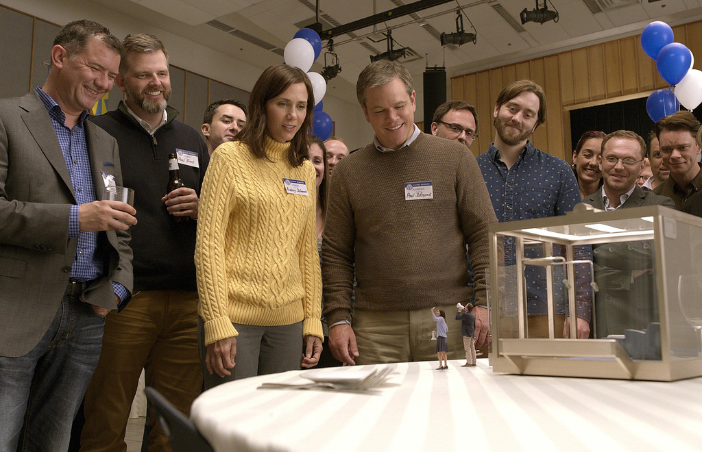 *Downsizing*. 2017. USA. Directed by Alexander Payne. Courtesy of Paramount Pictures