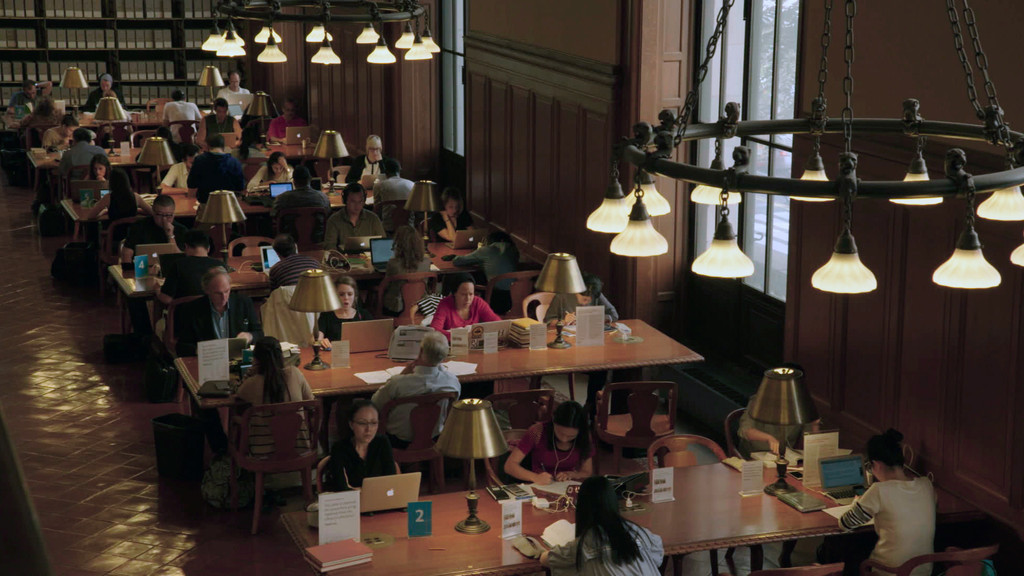 *Ex Libris: New York Public Library*. 2017. USA. Directed by Frederick Wiseman. Courtesy of Zipporah Films
