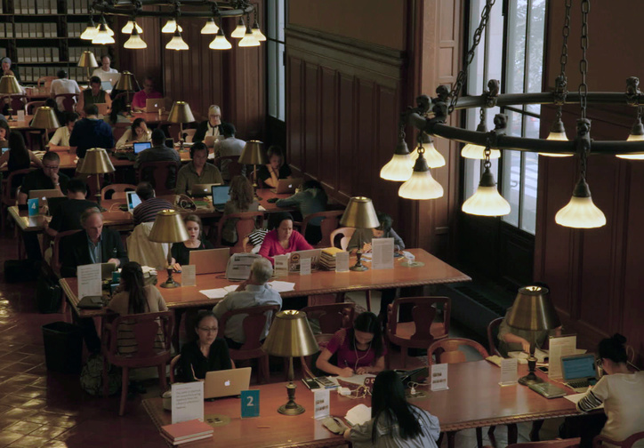 Ex Libris: New York Public Library. 2017. USA. Directed by Frederick Wiseman. Courtesy of Zipporah Films