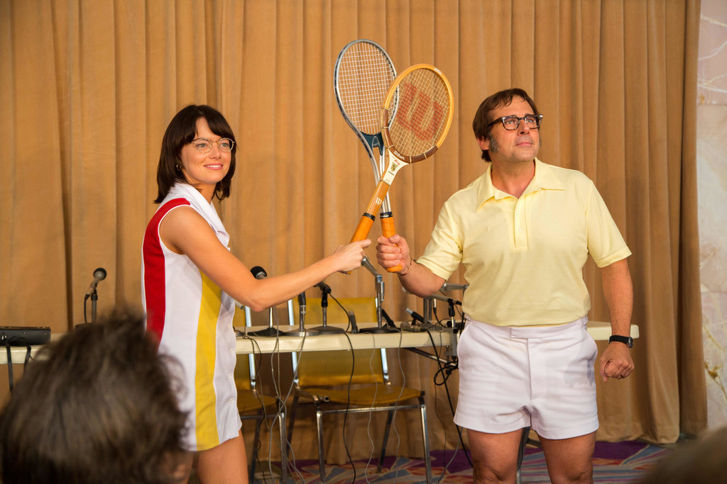 *Battle of the Sexes*. 2017. USA. Directed by Jonathan Dayton, Valerie Faris. Courtesy of Fox Searchlight