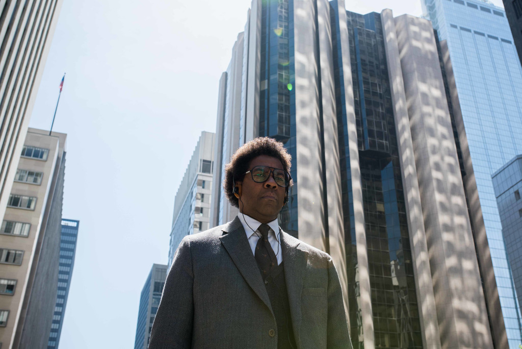 *Roman J. Israel, Esq.* 2017. USA. Directed by Dan Gilroy. Courtesy of Sony Pictures