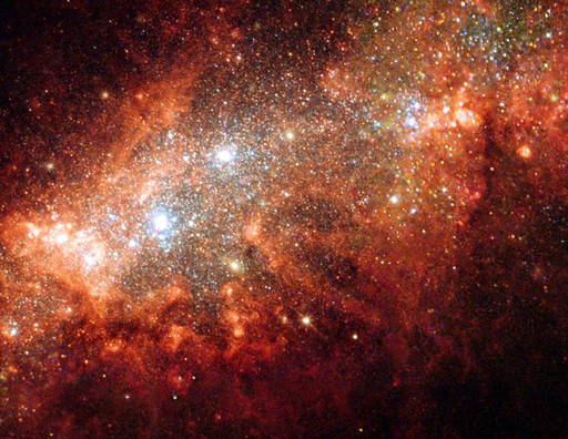 Hubble Space Telescope (HST) Dwarf Galaxy NGC 1569. Courtesy of NASA