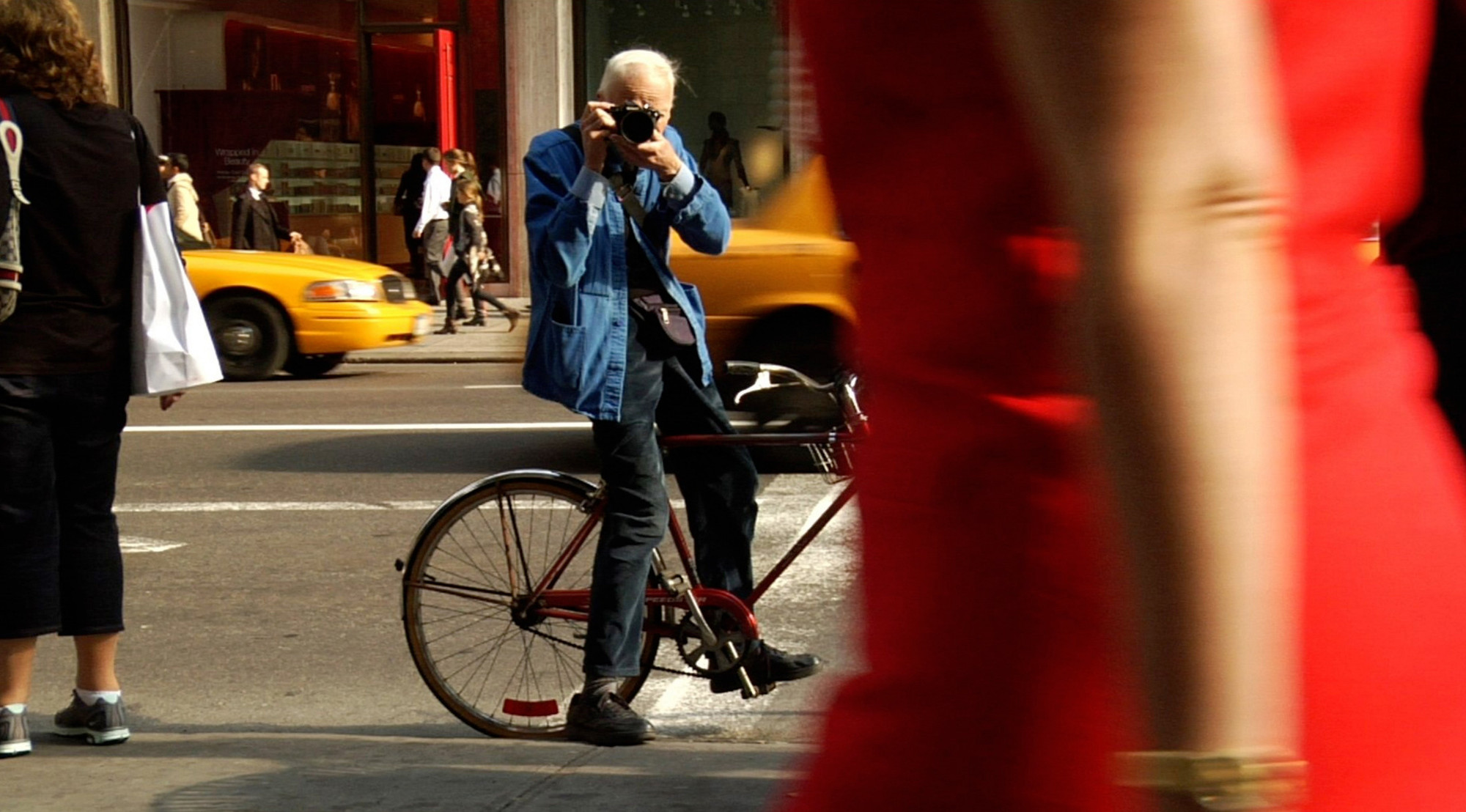Bill Cunningham New York. 2010. USA. Directed by Richard Press. Courtesy of First Thought Films/Zeitgeist Films