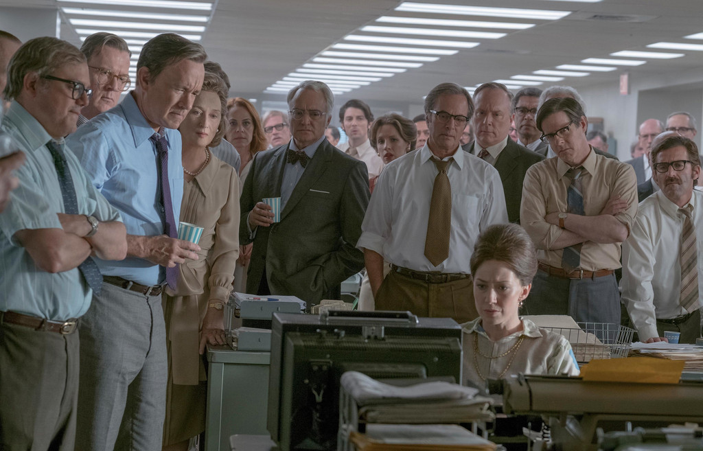 *The Post*. 2017. USA. Directed by Steven Spielberg. Courtesy of Twentieth Century Fox