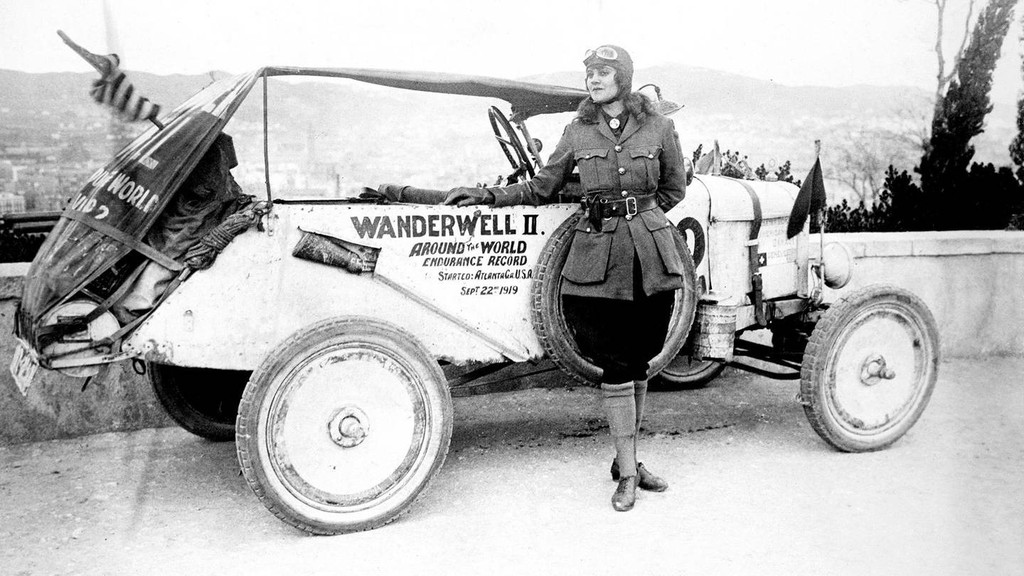 Aloha Wanderwell, The World's Most Widely Traveled Woman. Courtesy of The Richard Diamond Trust