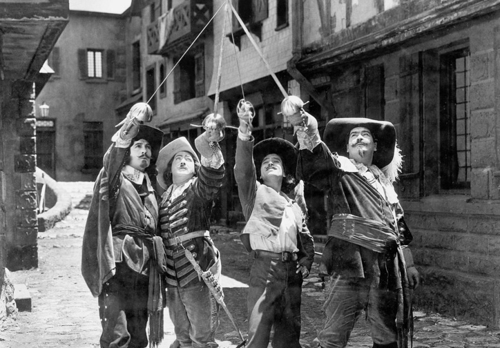 The Three Musketeers. 1921. USA. Directed by Fred Niblo. Courtesy of The Museum of Modern Art