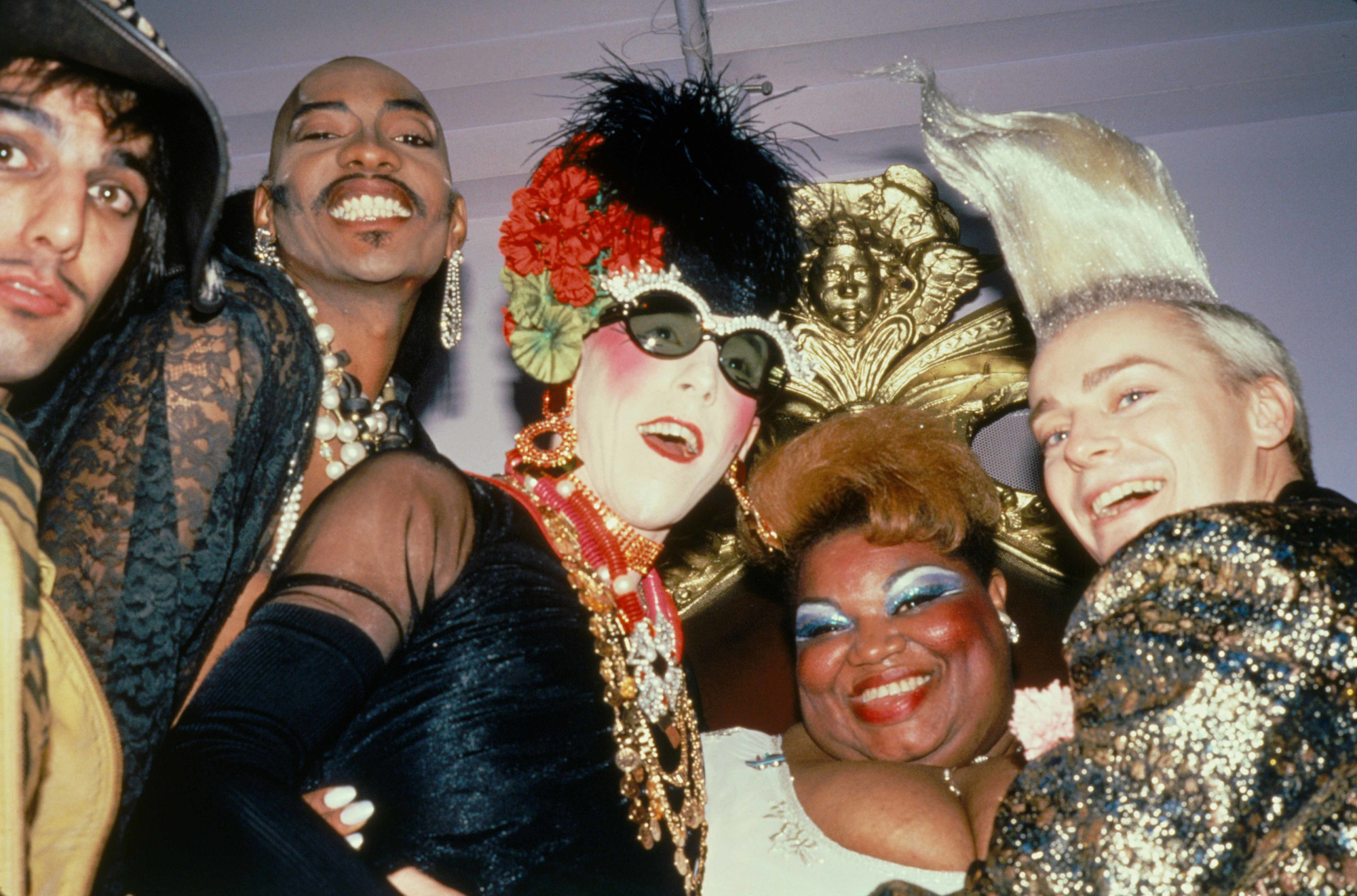 Tabboo!, Gerard Little, unknown performer, Jean Hill, and John Sex, 1983. Photo: Ande Whyland. Courtesy the artist