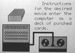 Still from the BEFLIX-produced film A Computer Technique for the Production of Animated Movies. 1964. Courtesy Ken Knowlton