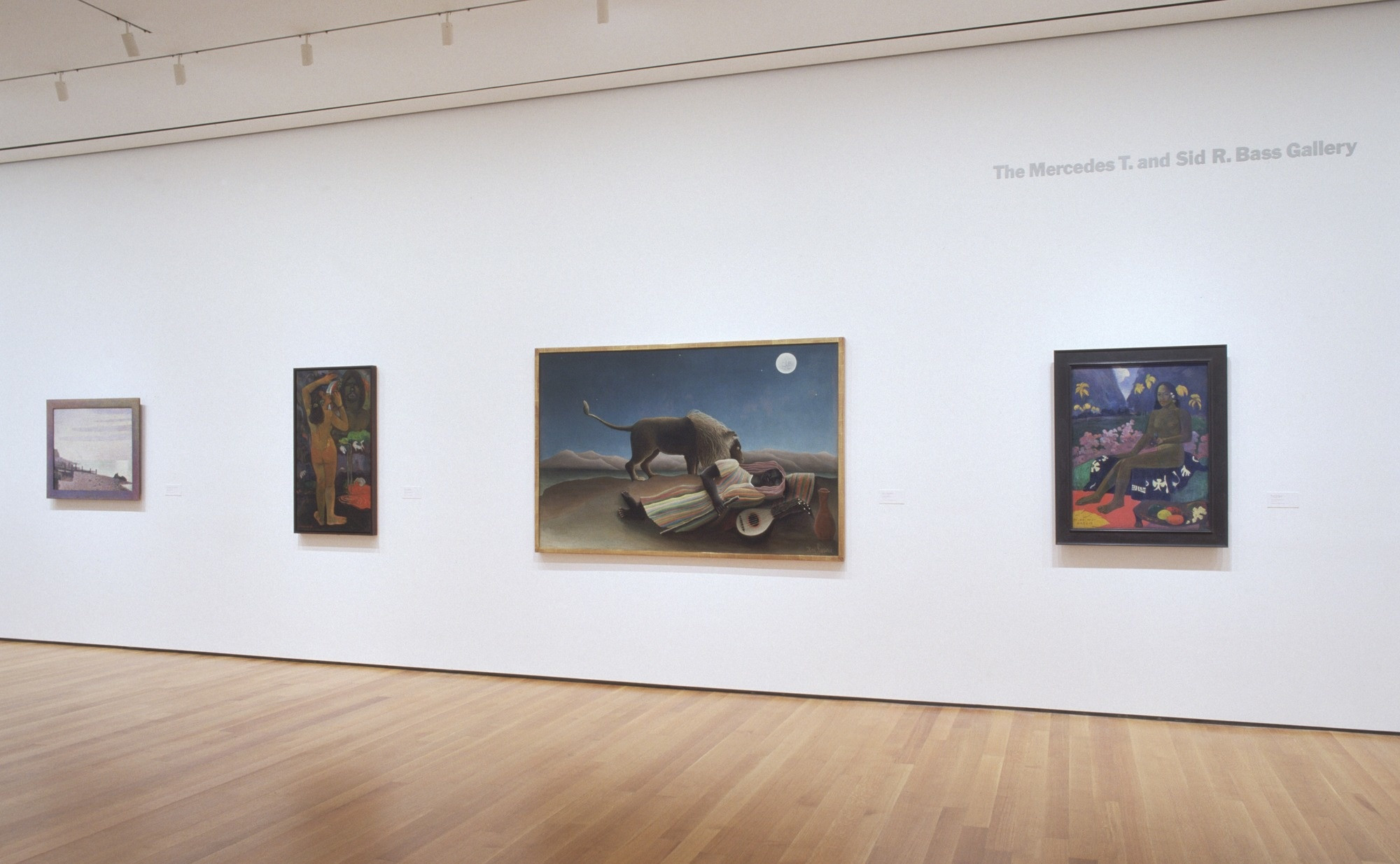Installation view of the exhibition, Painting and Sculpture: Inaugural Installation. November 20, 2004–December 31, 2005. IN1931.4. Photograph by Thomas Griesel