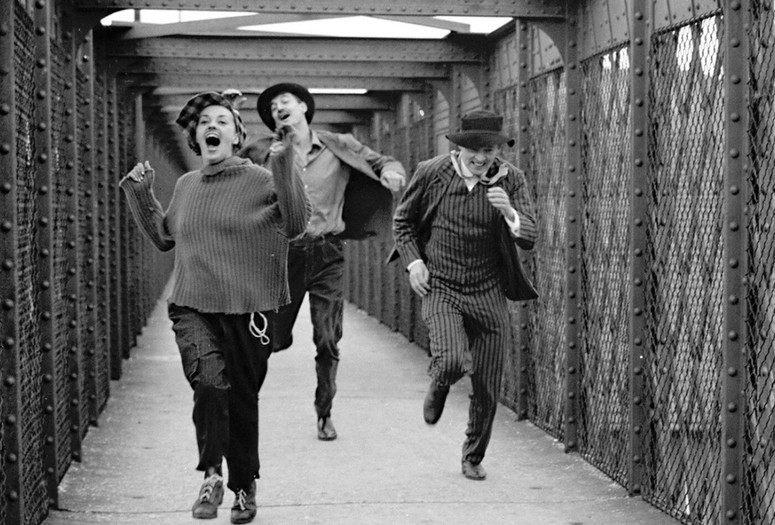 Jules et Jim (Jules and Jim). 1962. France. Directed by Francois Truffaut