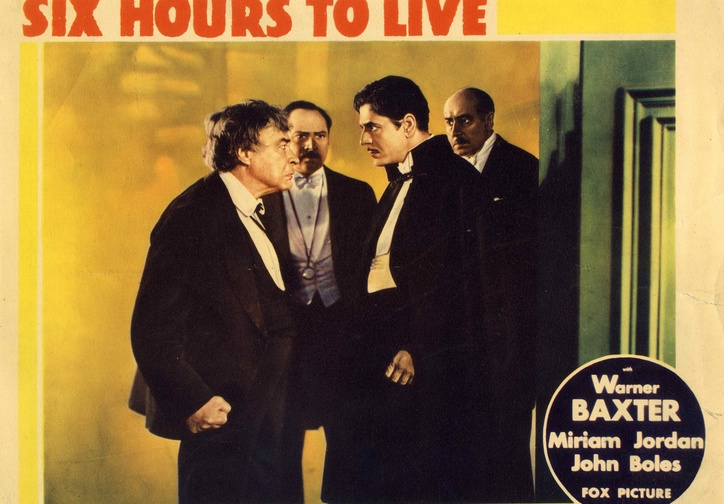 6 Hours to Live. 1932. USA. Directed by Wilhelm (William) Dieterle