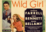 <em>Wild Girl</em>. 1932. USA. Directed by Raoul Walsh